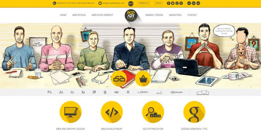 Webdesign /// UI & UX /// Web Interactive