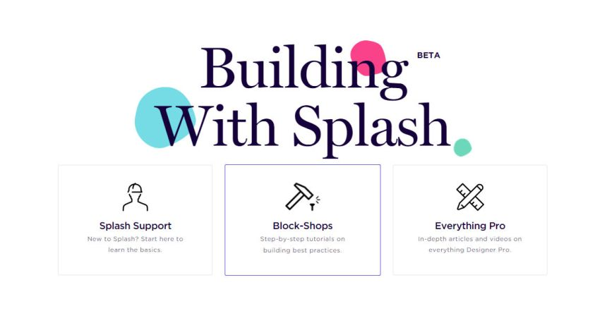 Building with Splash - Beta