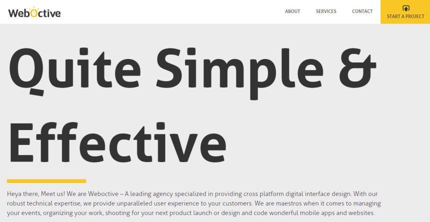Weboctive - Design And Development Studio