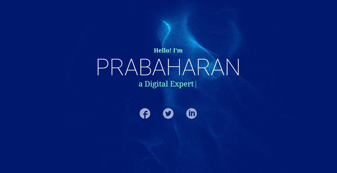 Prabaharan CS Portfolio