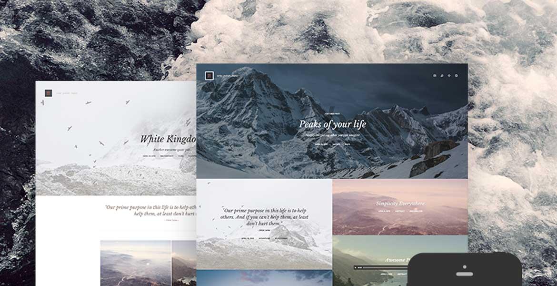Kopy - Simply a Blog WordPress Theme