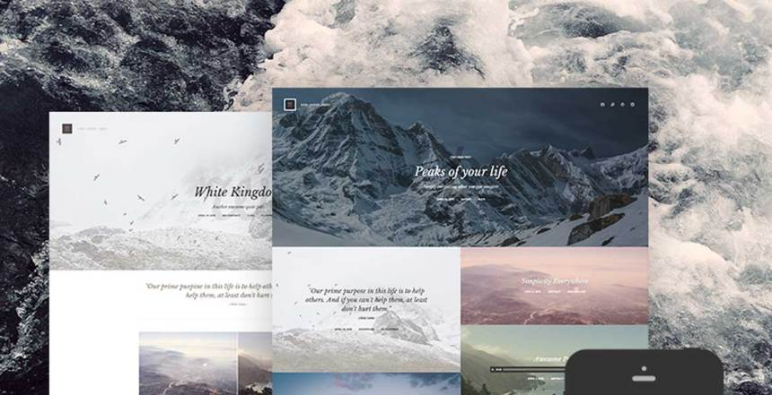 Kopy - Simply a Blog WordPress Theme