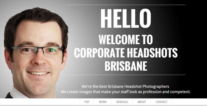 Corporate Headshots Brisbane