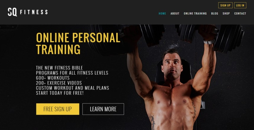 SQ FITNESS ONLINE PERSONAL TRAINING