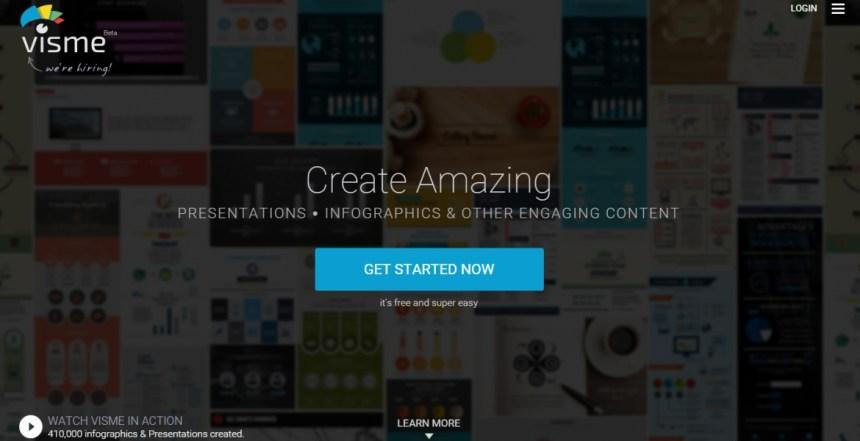 Visme - Create Amazing Content