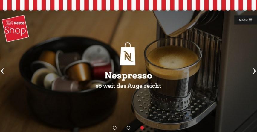 Nestle Shop Wien