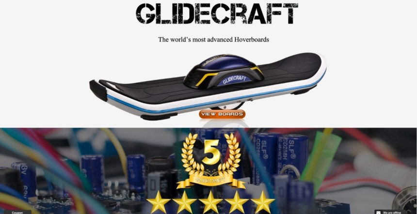 Glidecraft Hoverboards and Electronic Skateboards