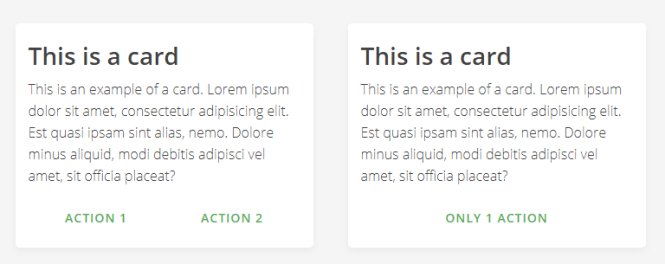 Mustard UI Cards