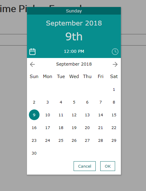 Material Inspired Date & Time Picker - simplePicker-min