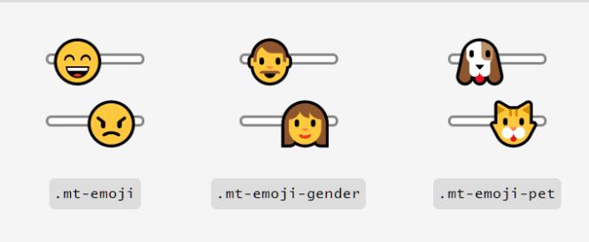 MoreToggles.css Emoji Switches