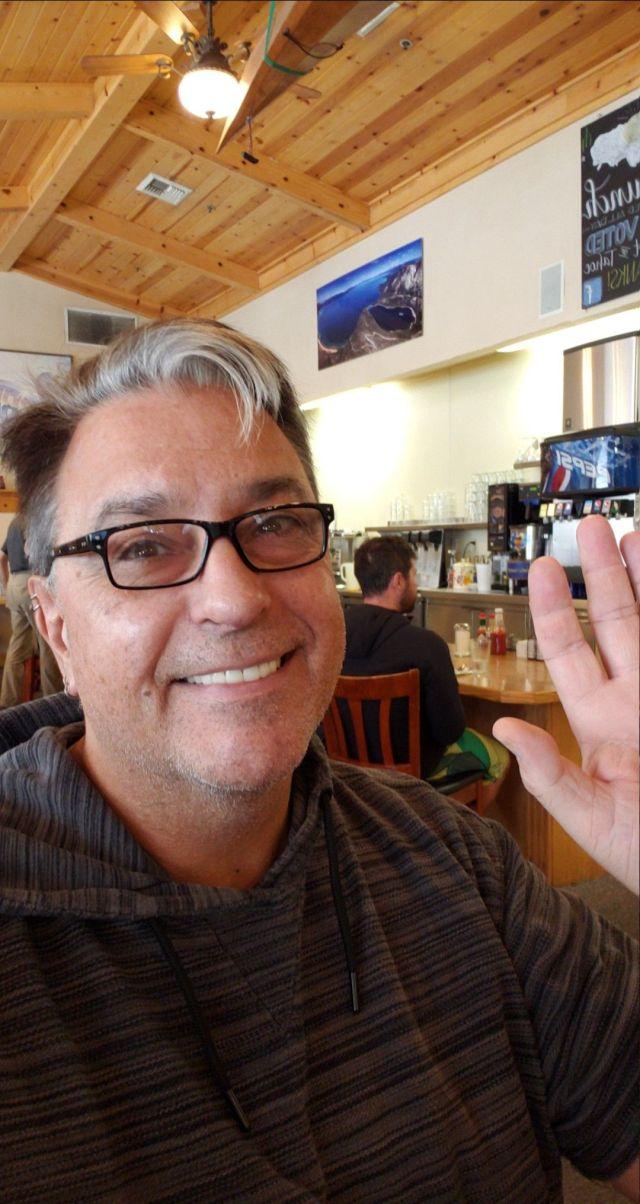 Chris Salmon at Ernie's in SLT, Sept. 5, 2018