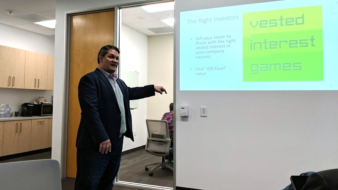 David Ochi at CSUF Startup Incubator