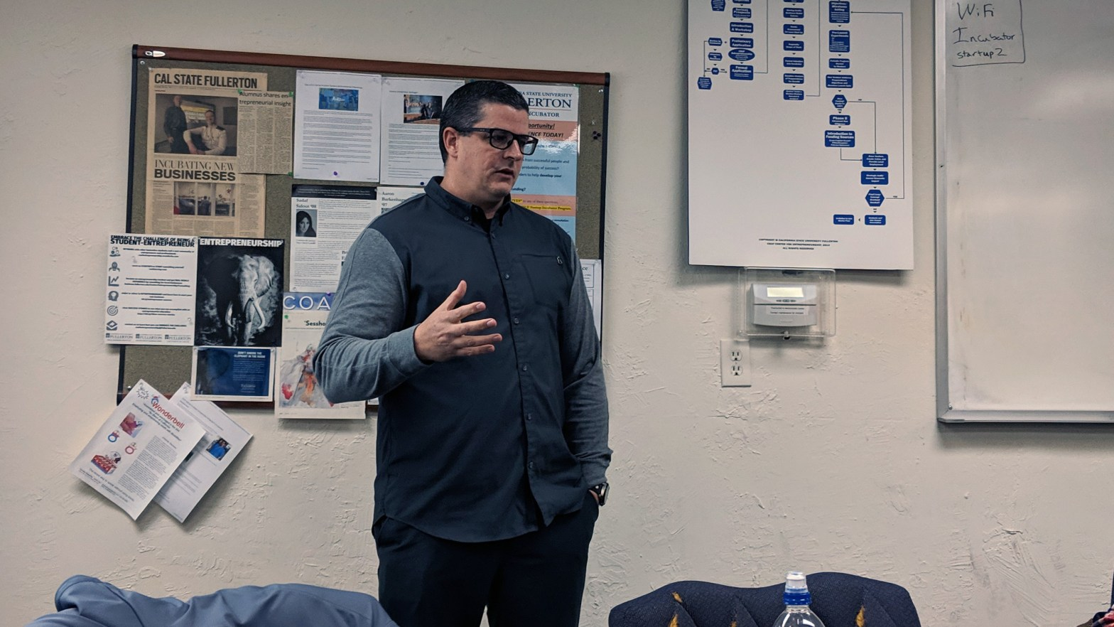 Michael Daehn SEO CSUF Startup Incubator Talk
