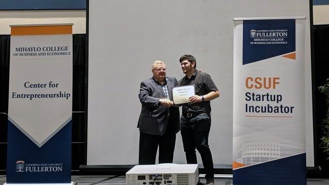 CSUF Startup Competition Runball