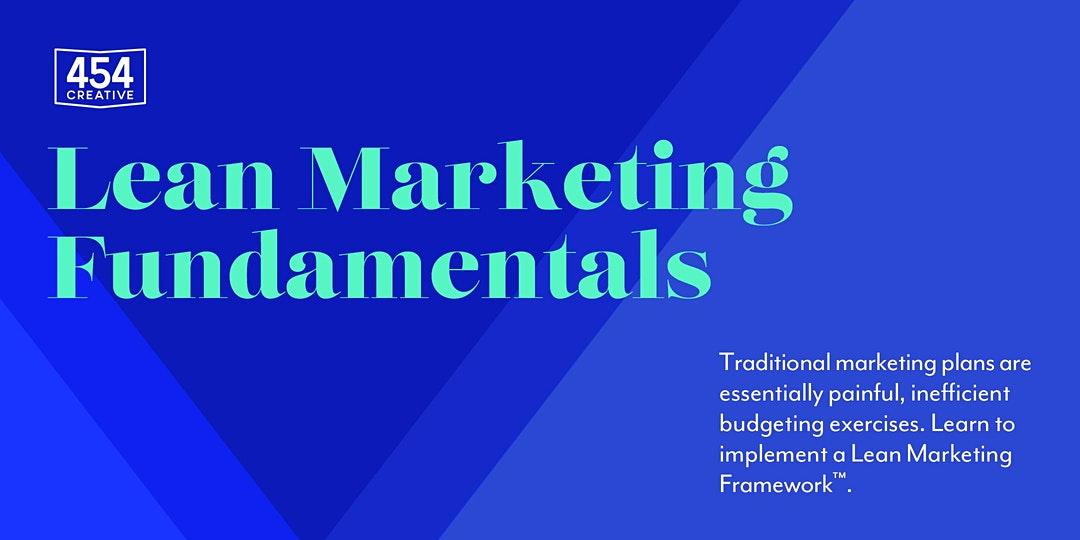 Lean Marketing Fundamentals
