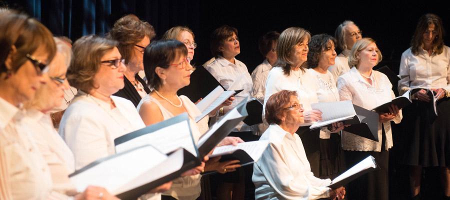 Chorale Kinor au FSM 2014