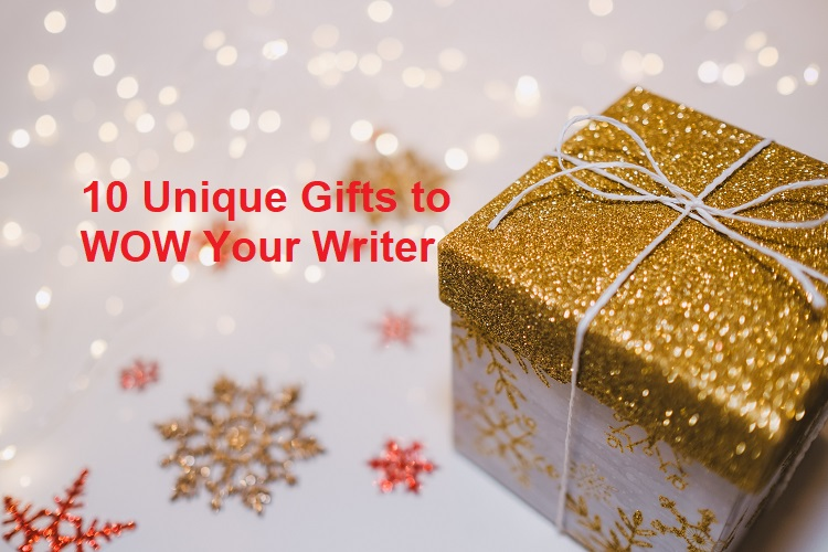 Image of a gold gift box for CSuther blog