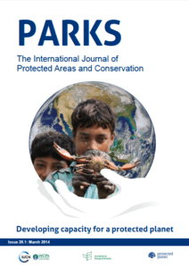 PARKS The Inetrnational Journal of Protected Areas and Conservation