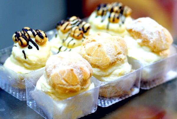 Assortment of Durian Puffs