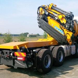 Macara pe camion Effer 2055