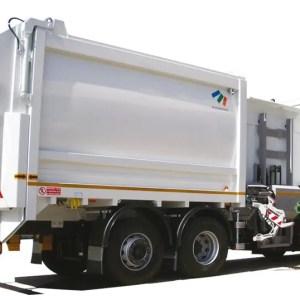 Side loader compactor  LATB