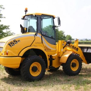 Articulated wheel loader PL 155