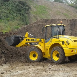 Articulated wheel loader PL 185
