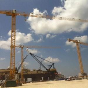 Flat top crane 1260 FTC P6