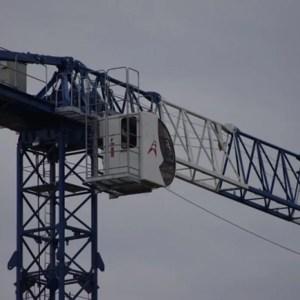 Flat top crane 1470 TLX P12