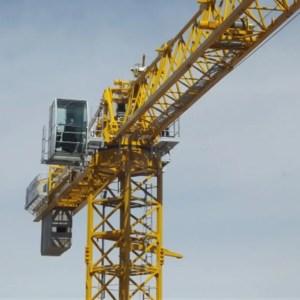 Flat top crane 2675 TLX P16