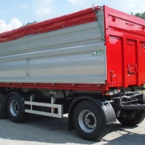 Turnplate trailer VSP24