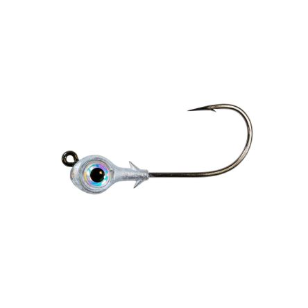 Zman Redfish Eye Jig Heads 0.125 Oz-Pearl