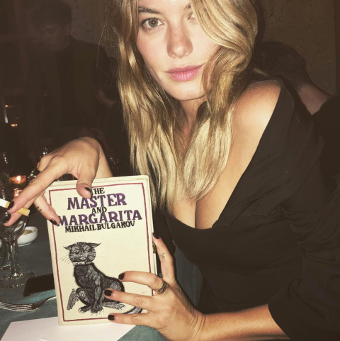 Camille Rowe Instagram