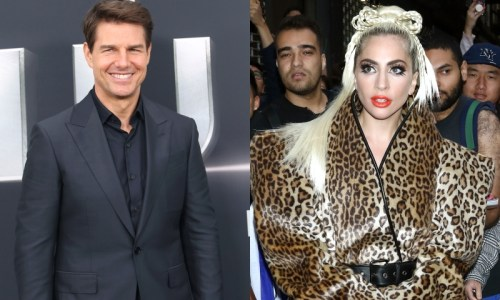 tom cruise lady gaga