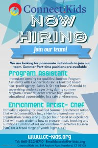copy of hiring poster template made