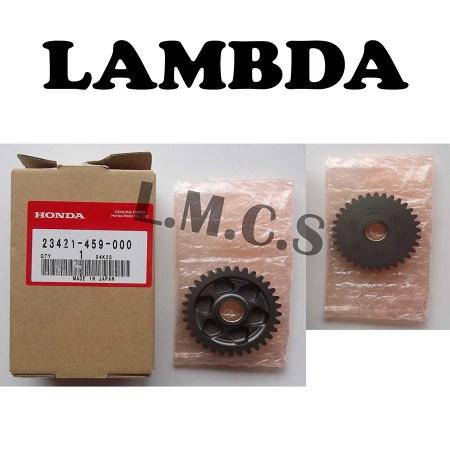 23421-459-000 countershaft-low gear 33t honda ct110