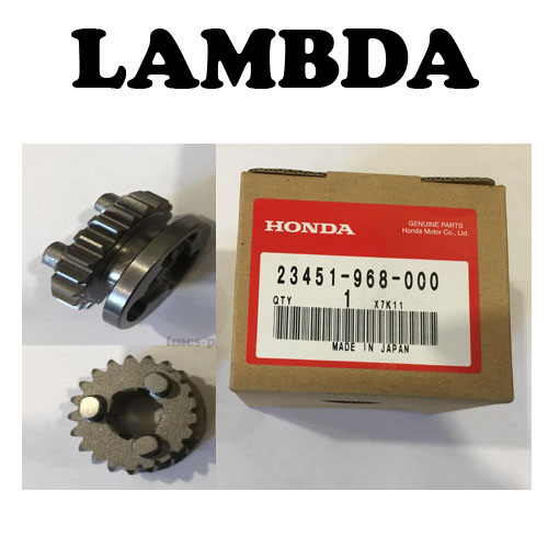 23451-968-000 gear main third honda ct110