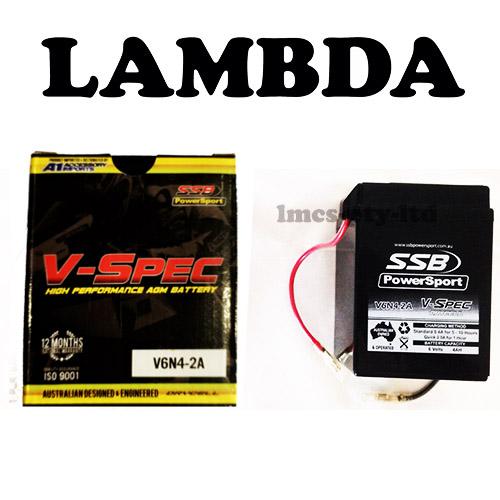 6v battery honda ct110