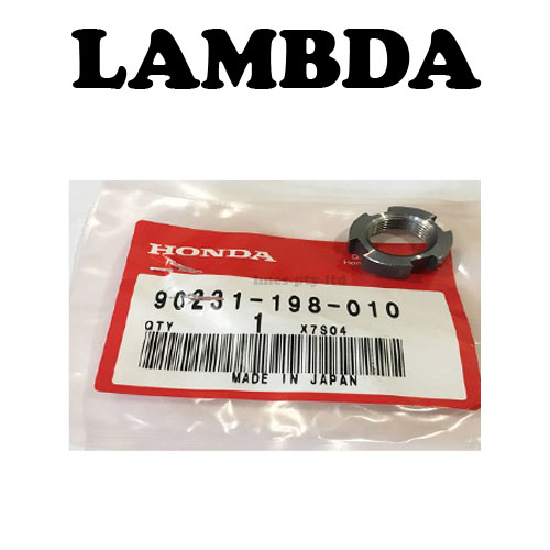 90231-198-010 clutch lock nut honda ct110