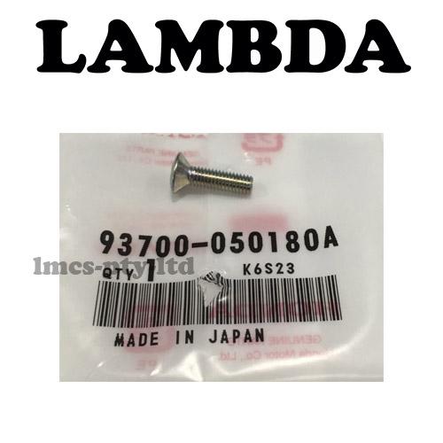 93700-050180A speedo hub screw honda ct110