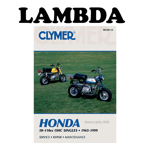 manual book by clymer for honda ct110 postie bikes rh ct110 postie com Honda CT90 Honda CT90