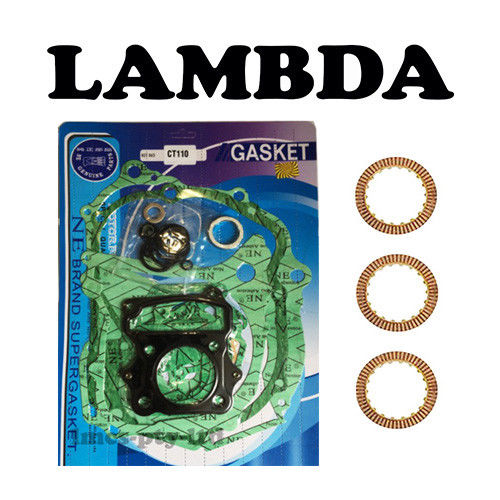 GASKET SET AND CLUTCH PLATES CT110