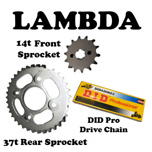 nbc110 postie chain and sprocket did pro chain 14t