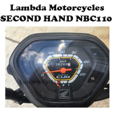 Second Hand Speedo Dash for Honda NBC110