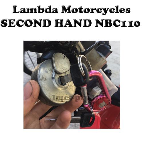 nbc110 fuel cap and keys