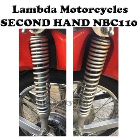 honda nbc110 second hand rear suspension springs