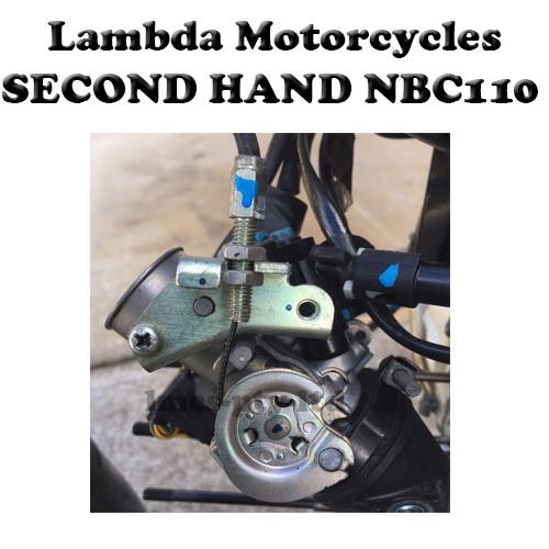 nbc110 second hand throttle body