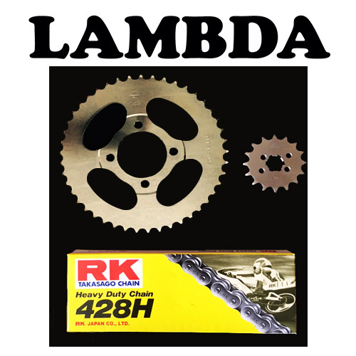 p99 ct110 rk chain and sprocket