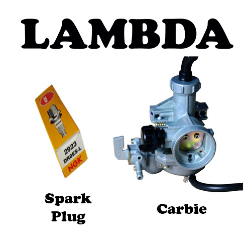 carbie and spark plug for honda ct110