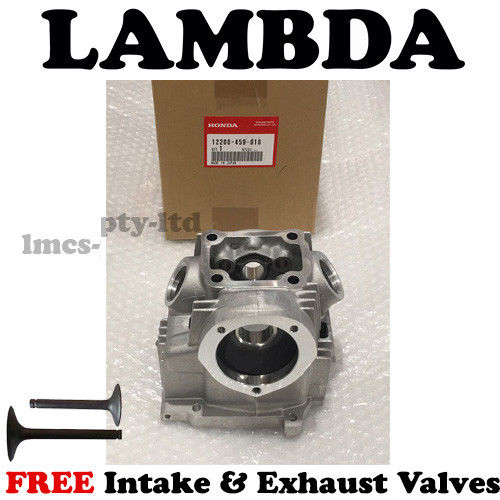 Head with valves for honda ct110 postie bikes